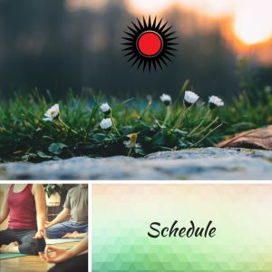 VegaYoga Home Page Schedule